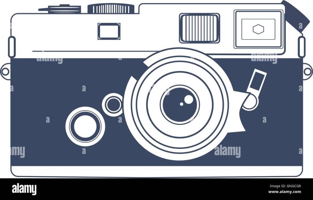 medium resolution of vintage camera vector clipart art
