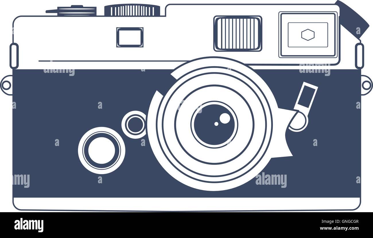 hight resolution of vintage camera vector clipart art