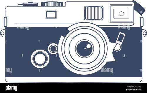 small resolution of vintage camera vector clipart art