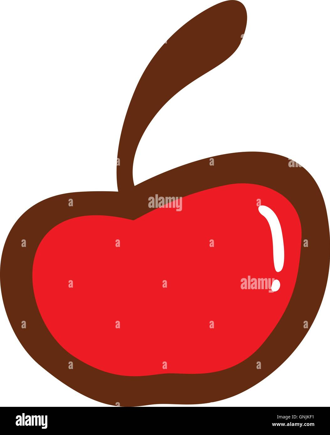 hight resolution of cherry fruit clipart vector