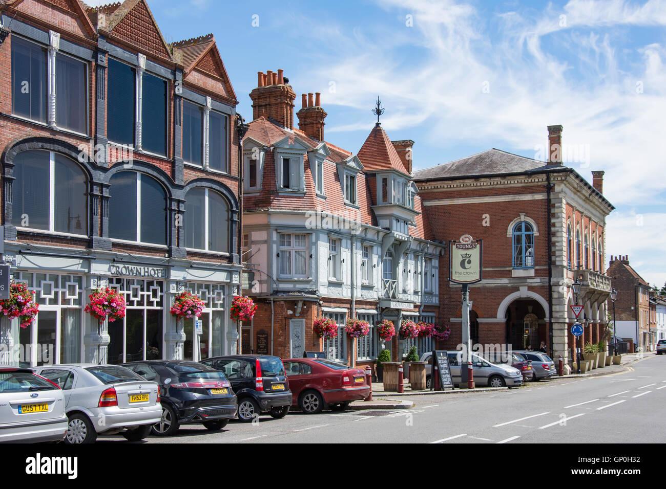 The Crown Hotel Windsor Street Chertsey Surrey England