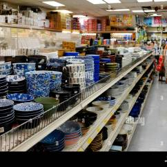Kitchen Stuff For Sale Driftwood Table Chinese Food Store In Chinatown Stock Photos And