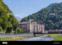 Hotels And Promenade Waterfront Krasnaya Polyana