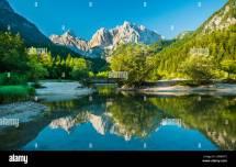 Kranjska Gora Slovenia Stock &