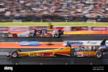 Side Jet Cars Santa Pod Raceway. Julian Webb In