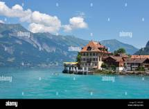 Iseltwald Switzerland Canton of Bern