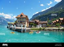 Lake Brienz Iseltwald Switzerland