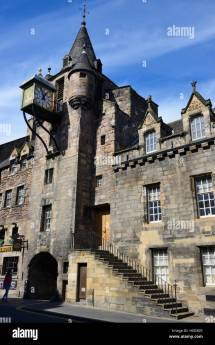 Canongate Tolbooth Royal Mile Edinburgh Scotland