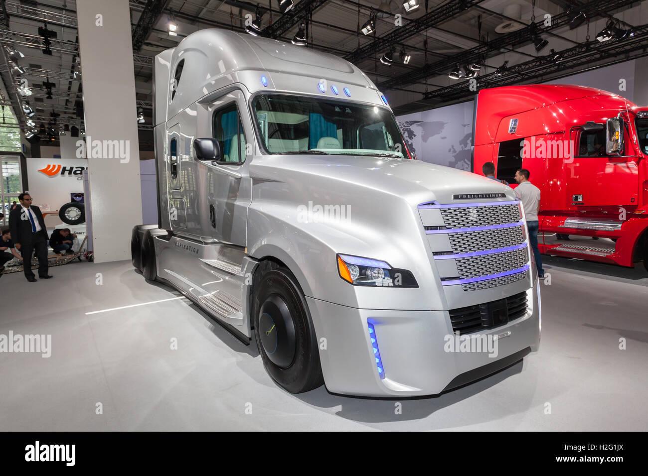 Freightliner Inspiration  Autonomous Truck At The Iaa