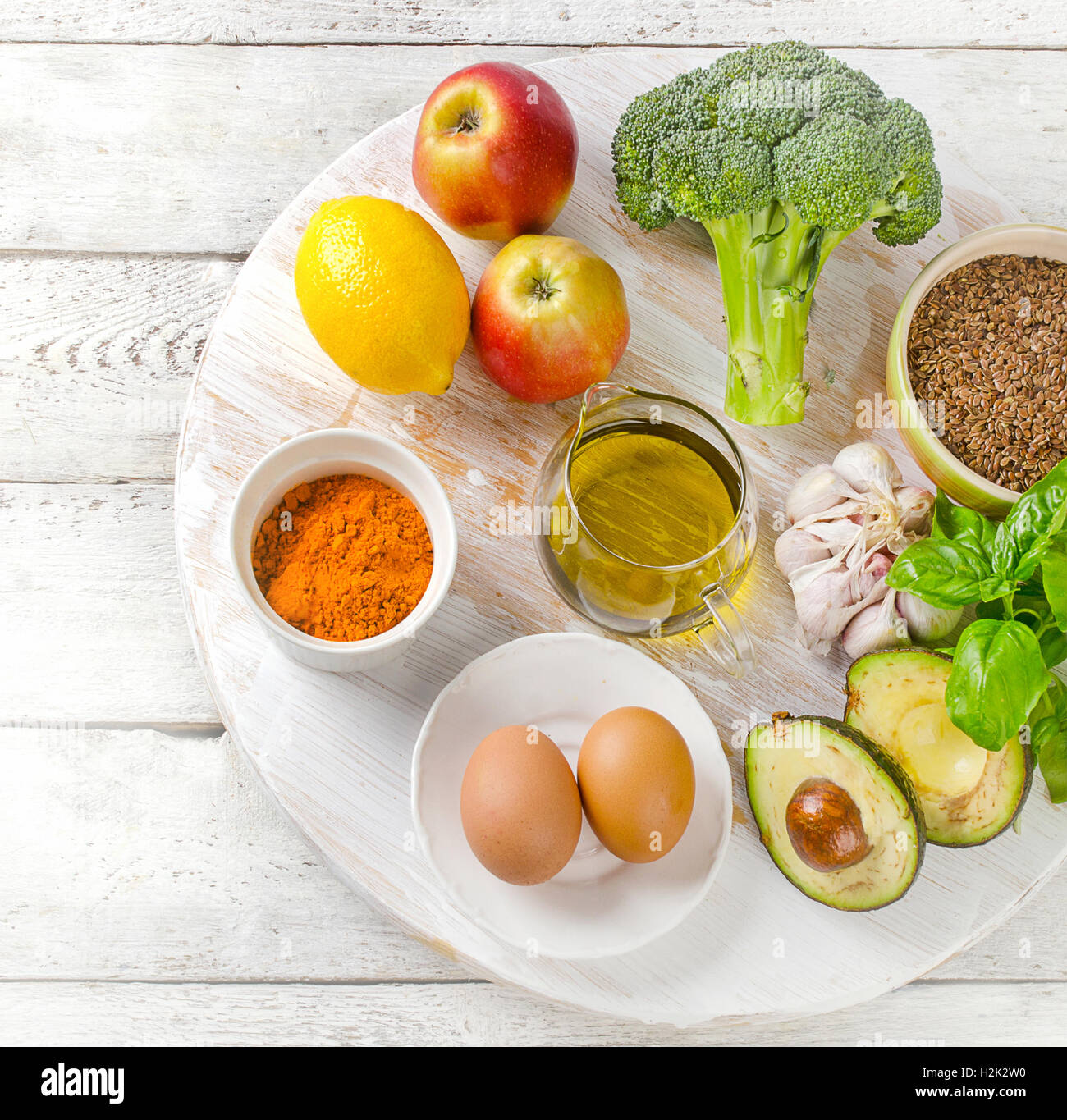 foods for healthy and clean liver flat lay stock photo royalty