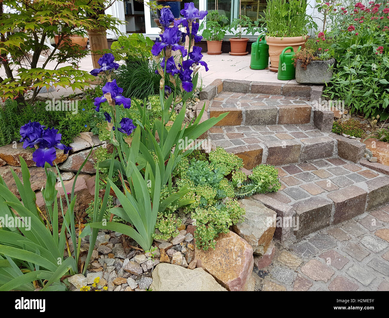 Treppe Garten Hang Awesome Selber Bauen Und Tipps Holztreppe Garten