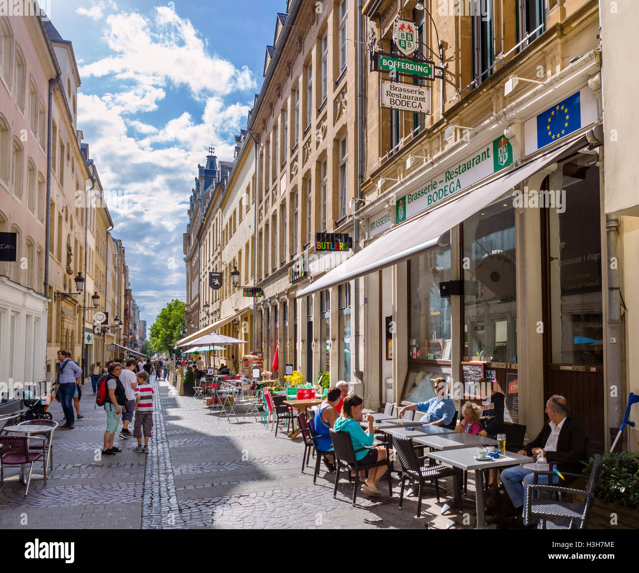 Restaurant Cafe Francais Luxembourg