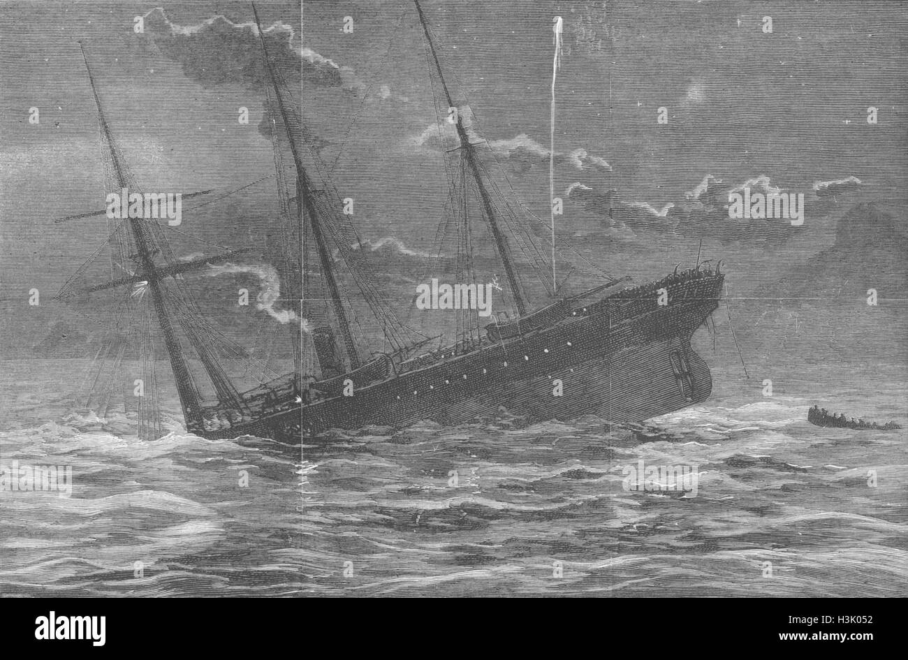 Sinking Ship Stock Photos Amp Sinking Ship Stock Images
