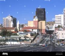 Namibia Windhoek Street Scene Africa Capital