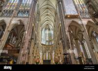 Interior of the Cologne Cathedral. Roman Catholic ...