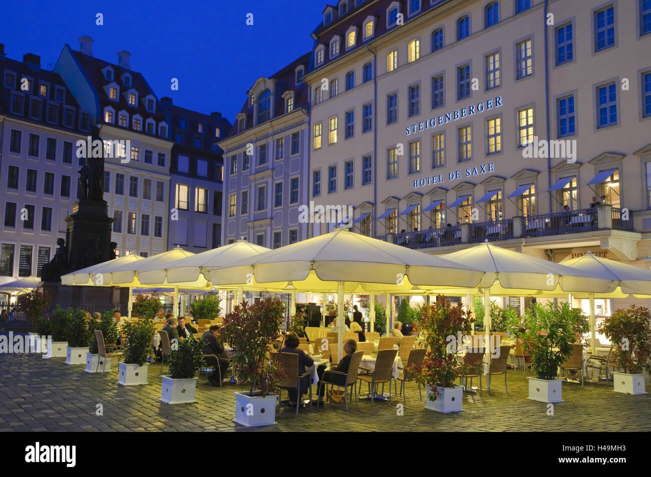 New Market Hotel De Saxe Monument Friedrich August Ii