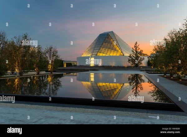 Aga Khan Museum Toronto Canada Stock &