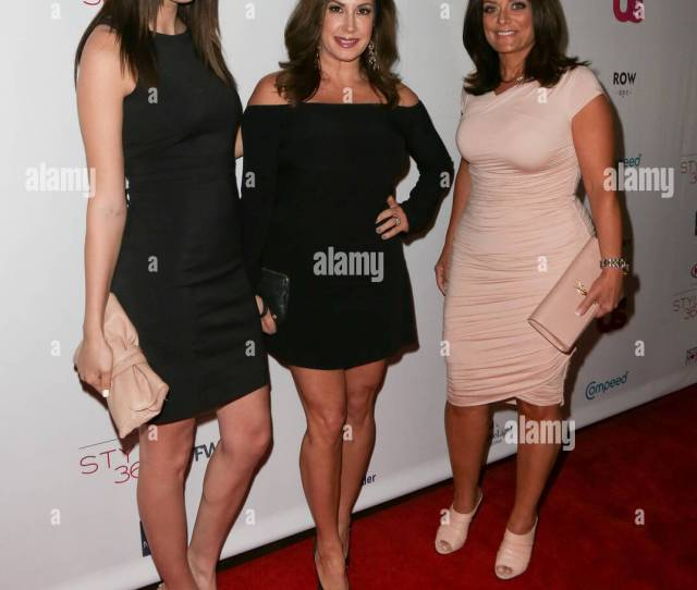 New York Sep 14 L R Ashlee Holmes Jacqueline Laurita And Kathy Wakile Attend The Us Weekly Celebrates Fashion Week At Kia Style360 At Row Nyc On