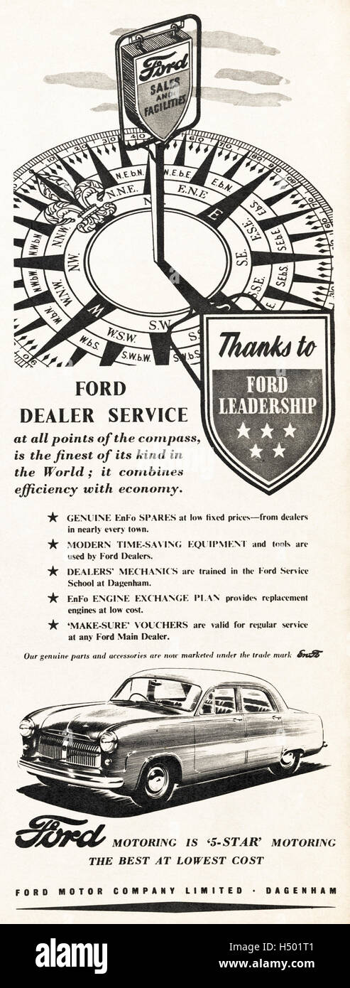 1950s advertising advert from