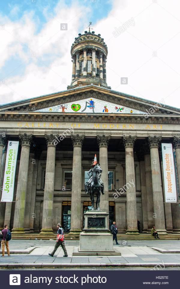 Neoclassical Of Modern Art In Glasgow Royal