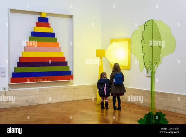 Rome. Italy. Children Modern Art Gnam National