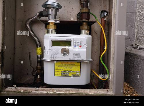 small resolution of smart gas meter can be read remotely and supply real time information to the home owner