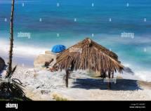 California Beach Hut Stock &