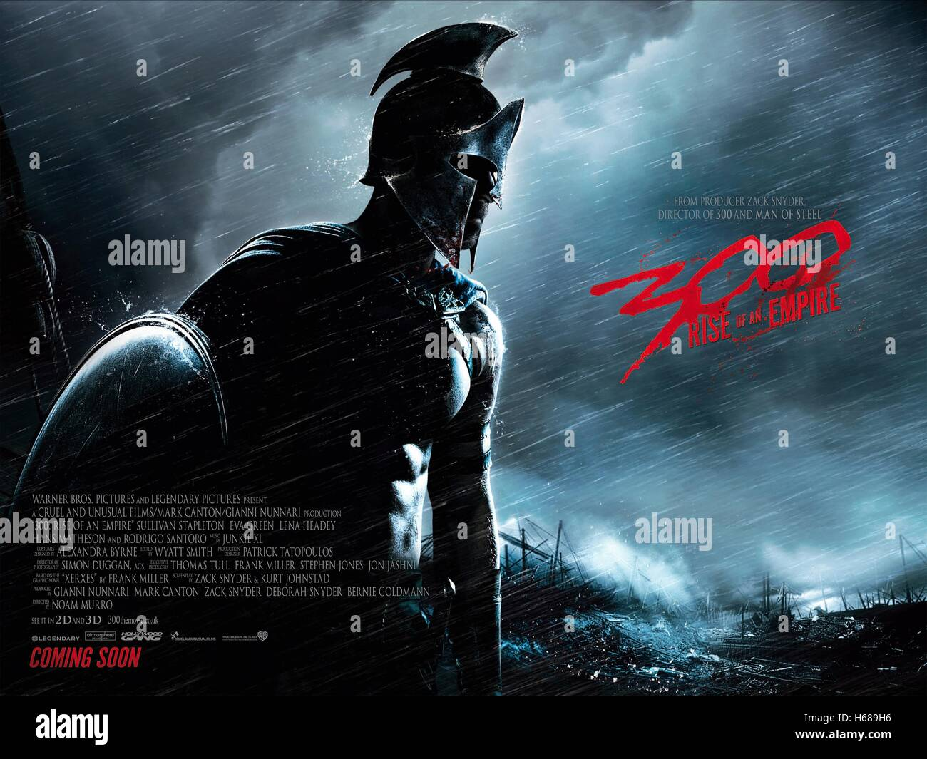 https www alamy com stock photo movie poster 300 rise of an empire 2014 124343666 html