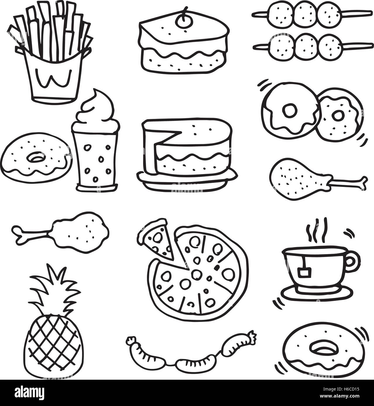 Shopping Food Plate Worksheet