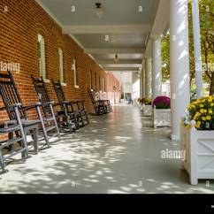 Rocking Chair Resort Mountain Home Arkansas Commode Walgreens Chairs Stock Photos And Images