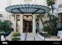 Entrance 5 Star Grand Hotel De Paris Monte Carlo