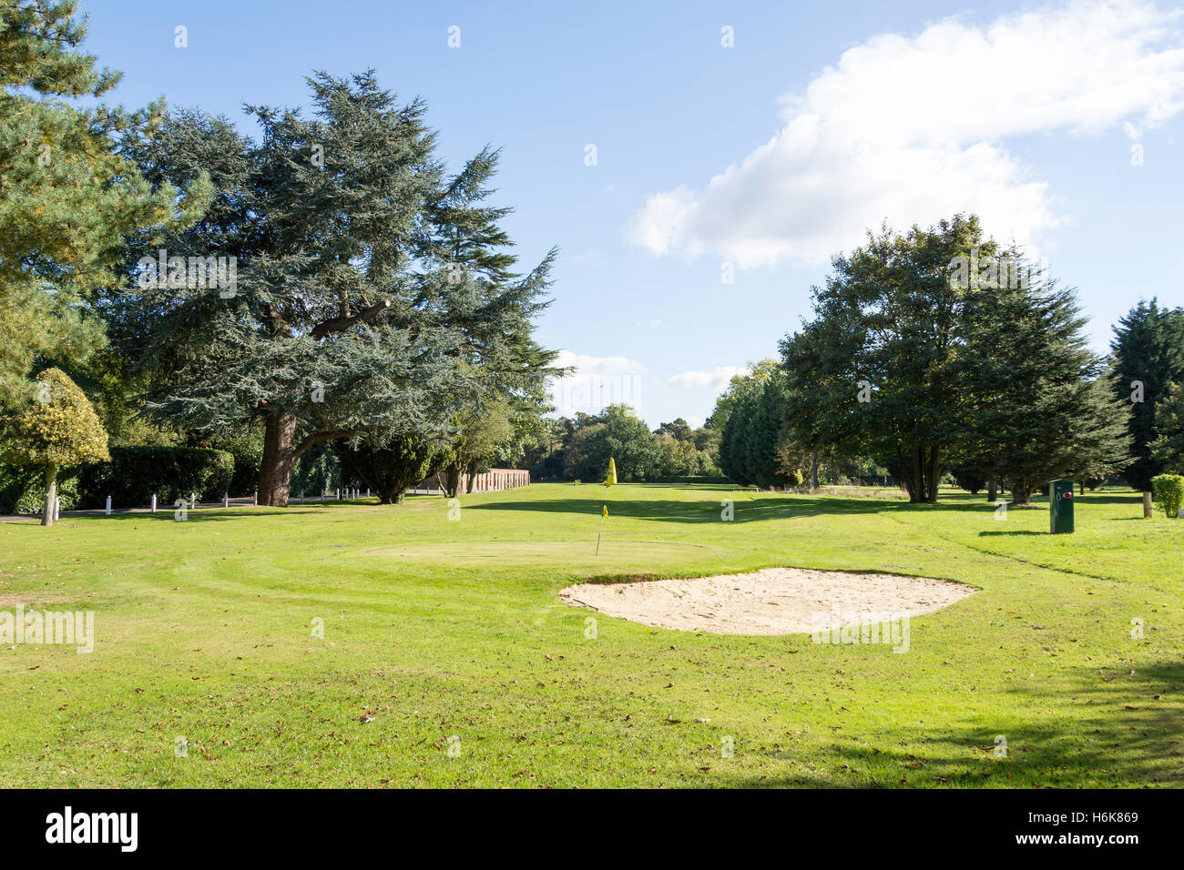 9 Hole Golf Course At The Oakley Court Windsor Road Water
