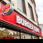 Burger King Shop Front Sign Building Exterior Facade Signs Signage Stock Photo Alamy