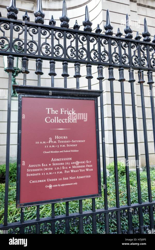 Frick Museum Stock & - Alamy