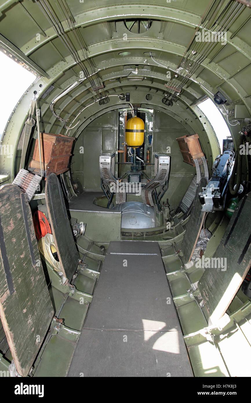 The Interior Of A B17 B 17 World War 2 Bomber Aircraft