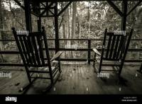 Rocking Chair On Porch Old Stock Photos & Rocking Chair On ...