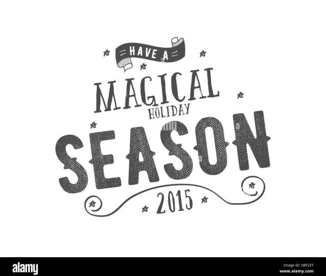 Merry Christmas Lettering Wishes Clipart For Holiday Season Cards Posters Banners Flyers And Photo Overlays Hand Drawn Typography Elements Monochrome