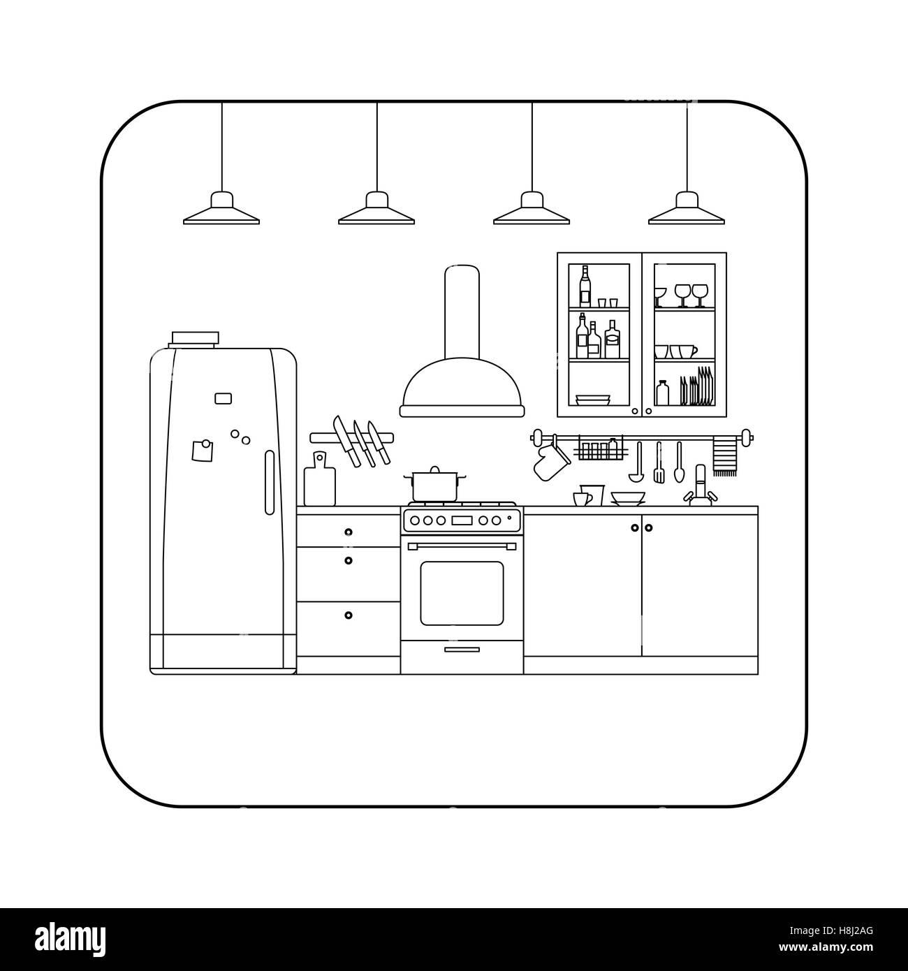 kitchen utensils store kraft cabinets stock photos and