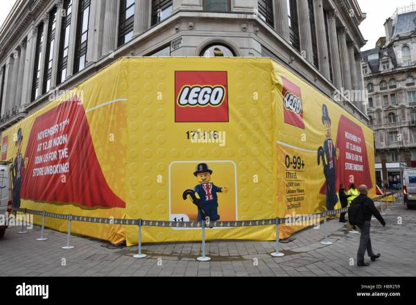 Lego Leicester Square Stock & - Alamy