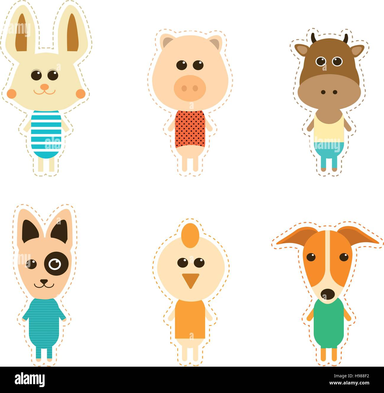 Kids Painting Animals Stock Photos Amp Kids Painting Animals
