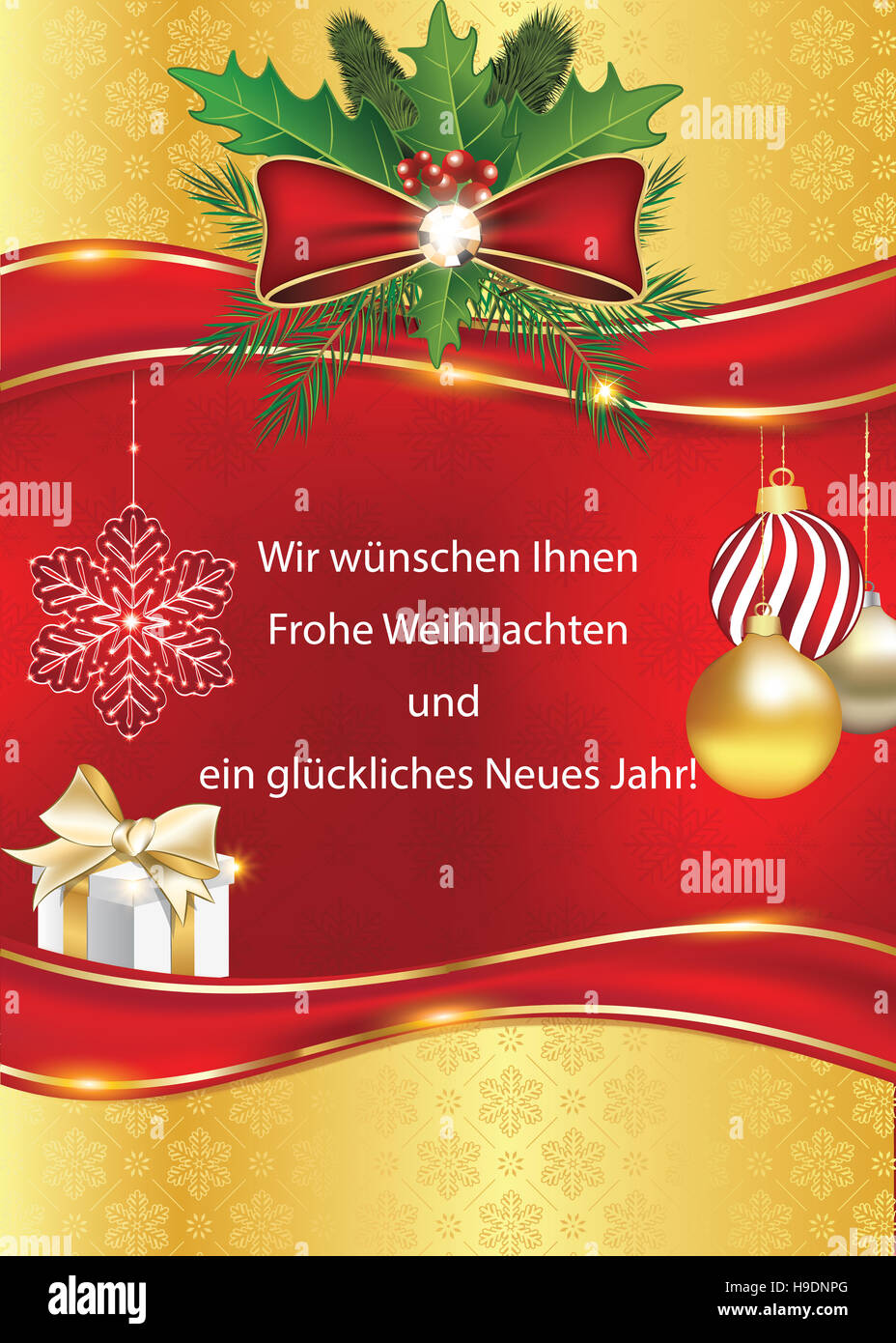 Geschftliche Weihnachtsgre Wir wnschen Ihnen Frohe