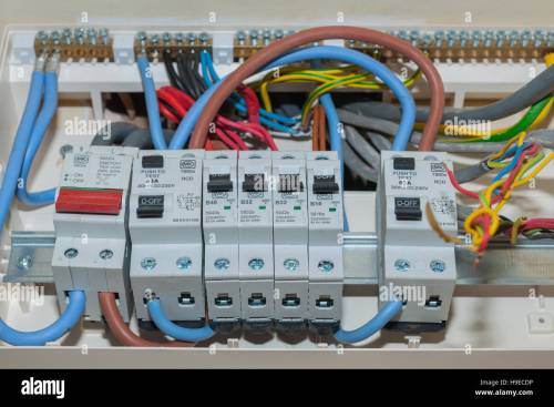 small resolution of a rcd fuse box in the uk stock photo 126321602 alamy rcd fuse box installation cost