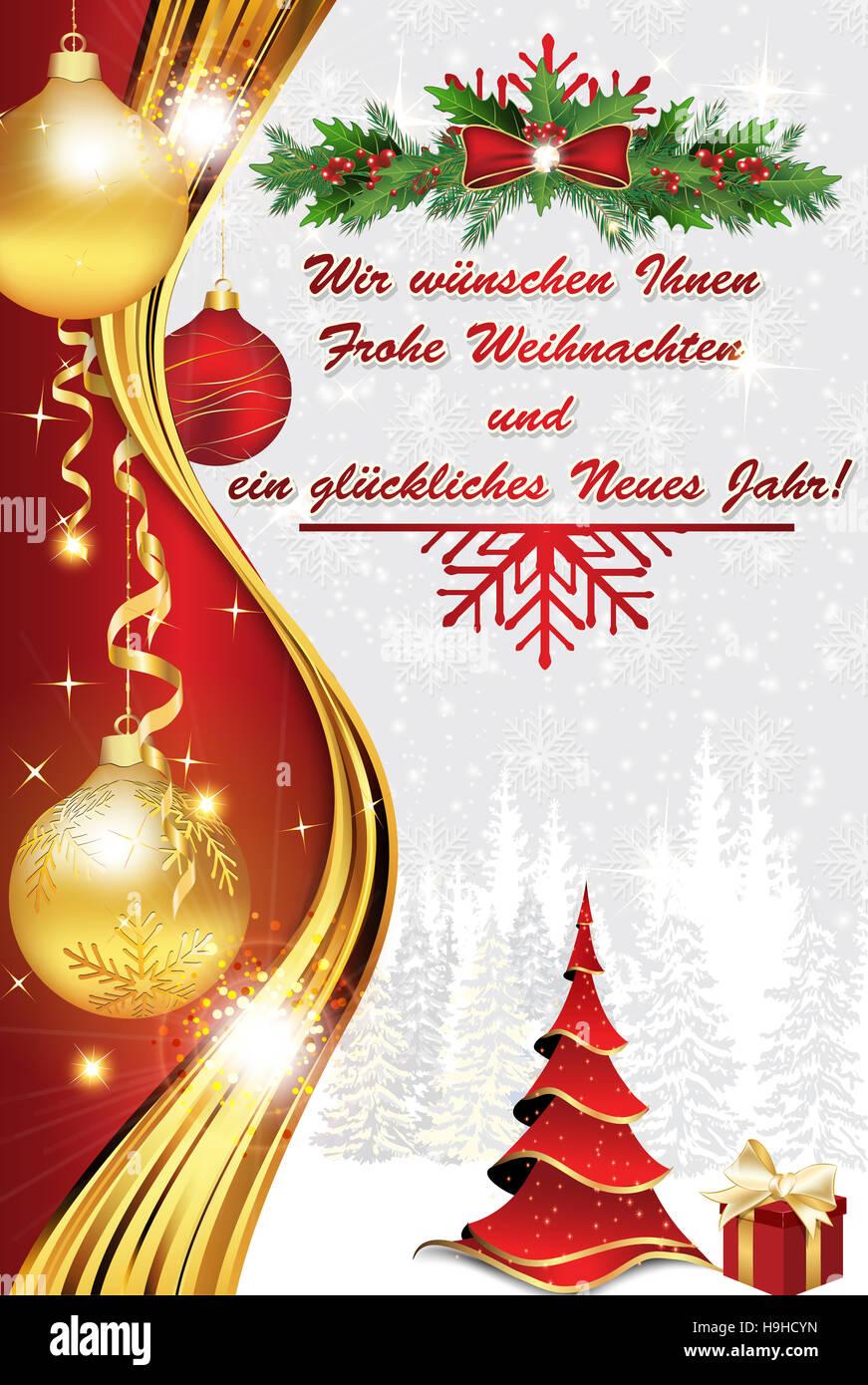 Geschftliche Weihnachtsgre Druckfarben verwendet Stock