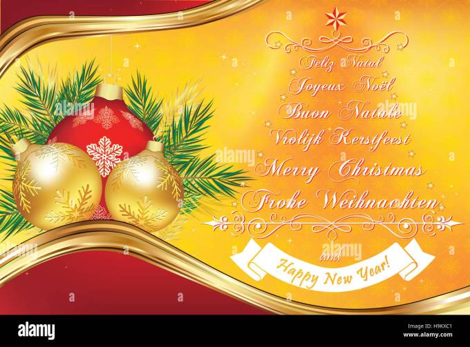 Merry christmas and happy new year wishes in german christmaswalls 2017 happy new year multilingual stock photos m4hsunfo