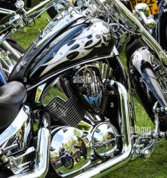 custom honda vtx motorcycle [ 865 x 1390 Pixel ]