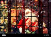 Real Santa Claus. Santa Claus sleeping in the living room ...