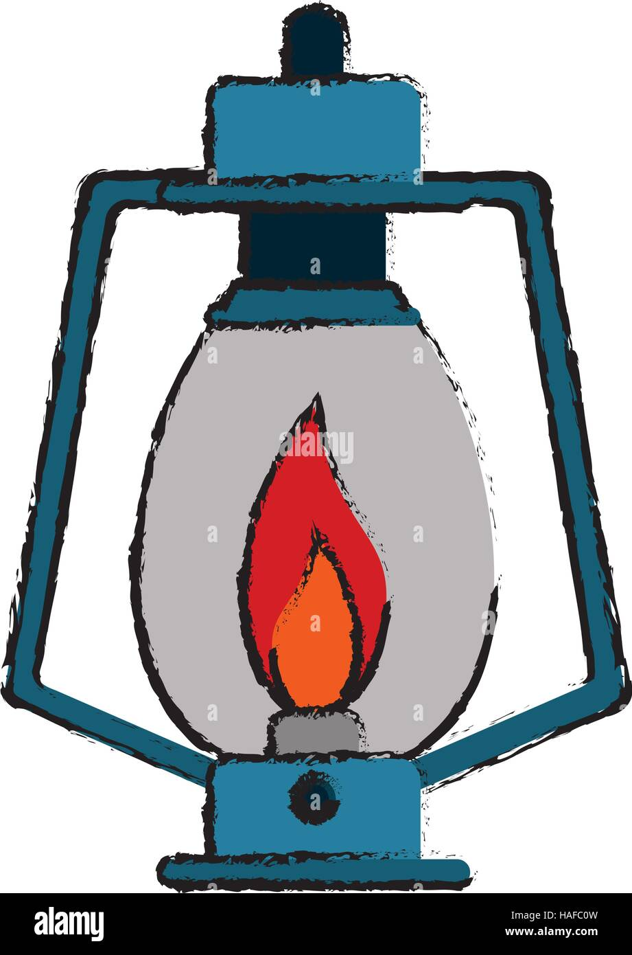 Drawing Lamp Kerosene Old Lantern High Resolution Stock Photography And Images Alamy