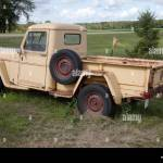Old Jeep Truck High Resolution Stock Photography And Images Alamy