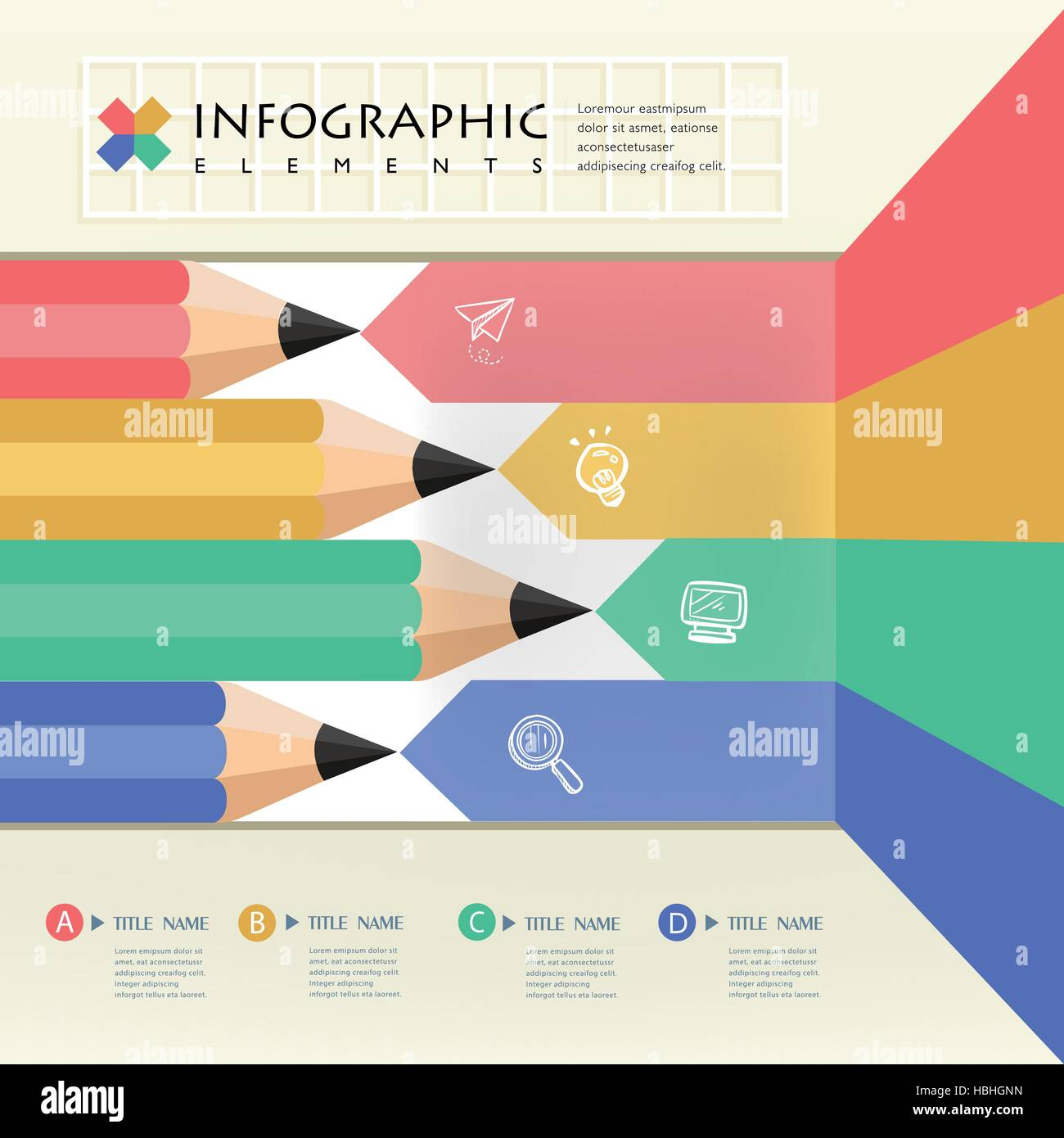 creative infographics template with