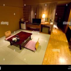 Futon Style Living Room Four Chair Design Traditional Japanese Hotel With Tatami Mats And Bed